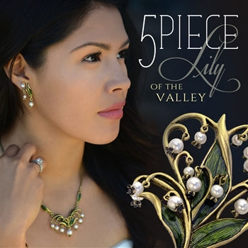 Lily of the Valley 5-piece Collection - sweetromanceonlinejewelry