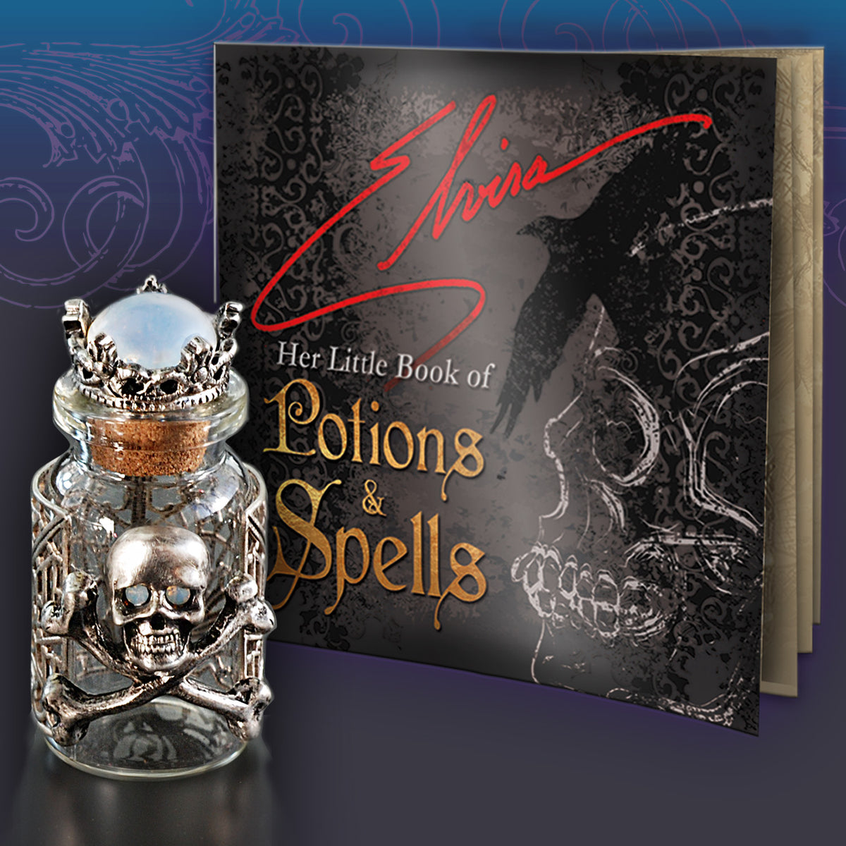 NEW! Limited Edition Elvira's Poison Bottles - Love - sweetromanceonlinejewelry