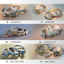 Load image into Gallery viewer, Set of 3 Inspirational Stacking Rings