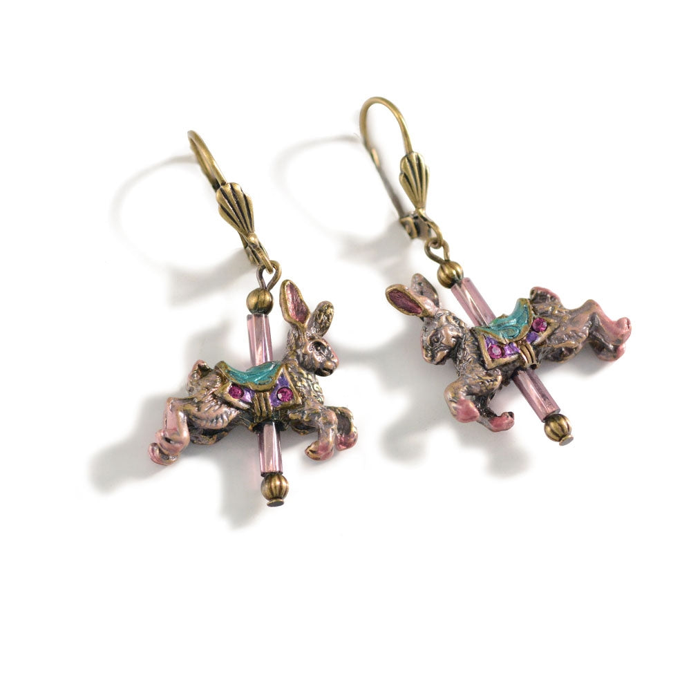 Carousel Animal Earrings