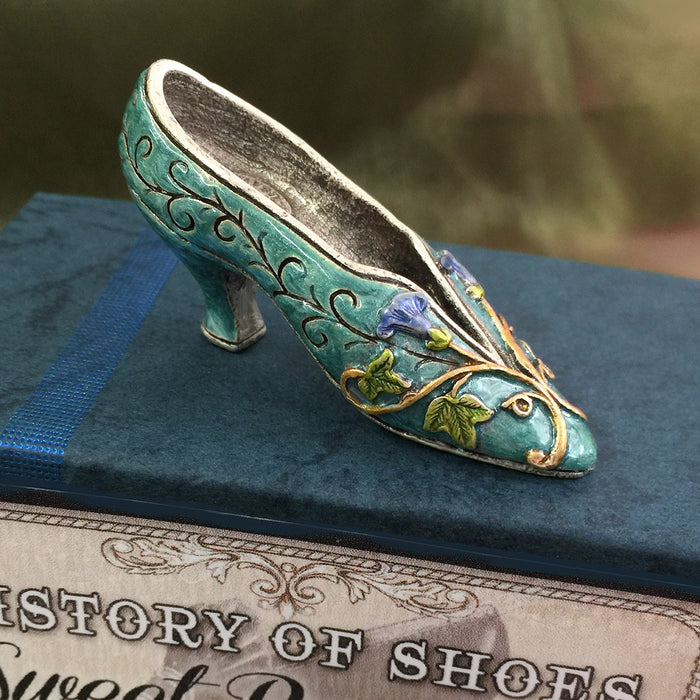 1910 Parisian Silk Shoe Miniature  SH304