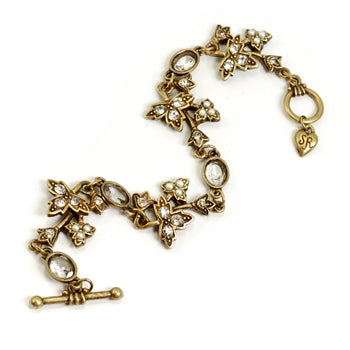 Daisy Leaves Bracelet