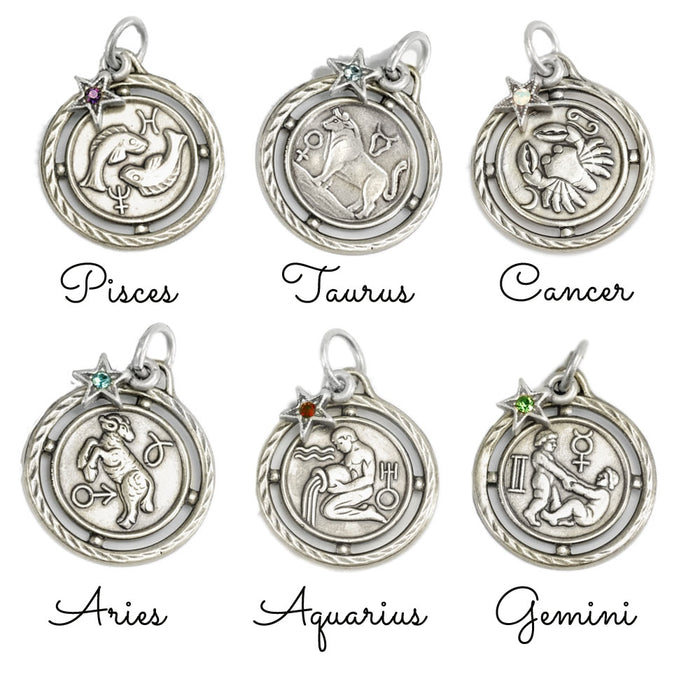 Zodiac Bangle - sweetromanceonlinejewelry