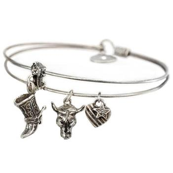 Adventure Bangle BR372 - sweetromanceonlinejewelry