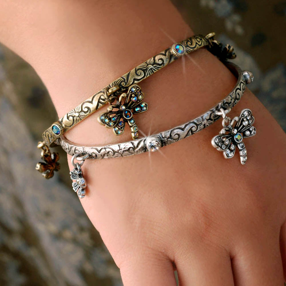Dragonfly Bangle Bracelet BR427