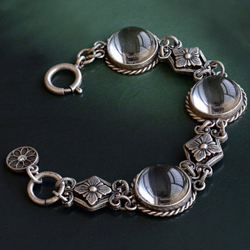 Pools of Light Crystal Orb Bracelet