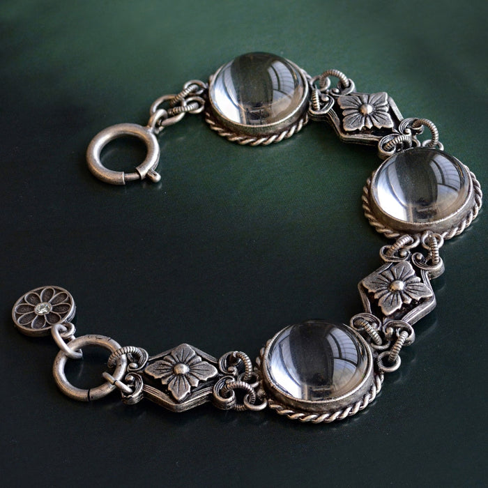 Pools of Light Crystal Orb Bracelet - sweetromanceonlinejewelry