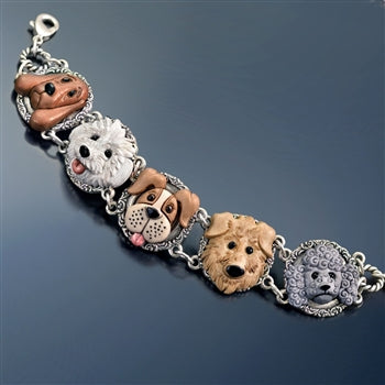 Dog Lovers Bracelet BR576 - sweetromanceonlinejewelry