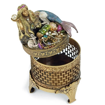 Mermaid Treasure Box by Sweet Romance BX312 - sweetromanceonlinejewelry