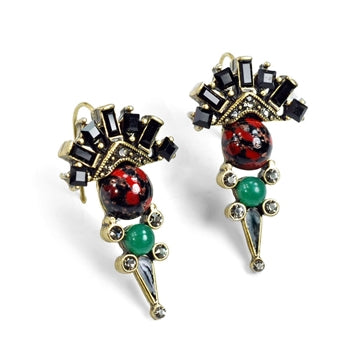 British Regalia Earrings E1202