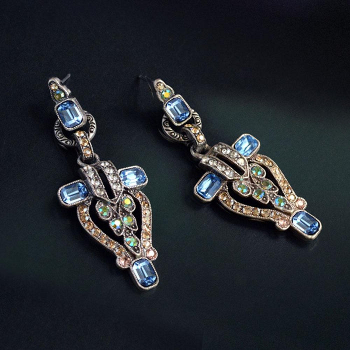 Art Deco New York City Vintage Earrings E1206