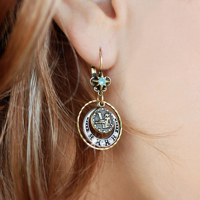 Zodiac Earrings E1241