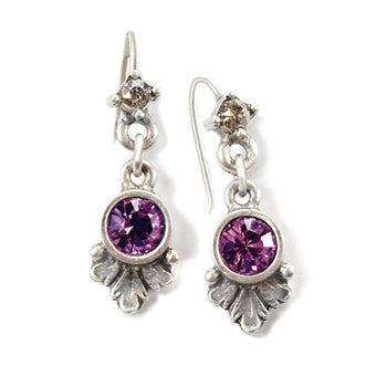 Swarovski Crystal Dainty Birthstone Earrings - sweetromanceonlinejewelry