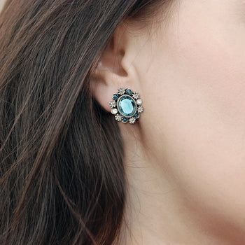 Geneva Jewel Earrings E1260