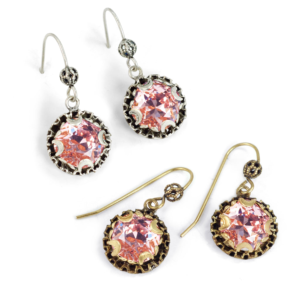 Crystal Dot Earrings E1297 - sweetromanceonlinejewelry