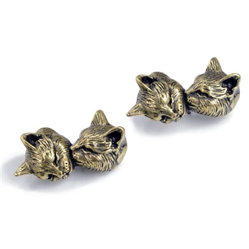 Sleeping Kittens Earrings E1344 - sweetromanceonlinejewelry