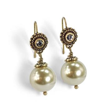 Laguna Beach Pearl Earrings E1364 - sweetromanceonlinejewelry