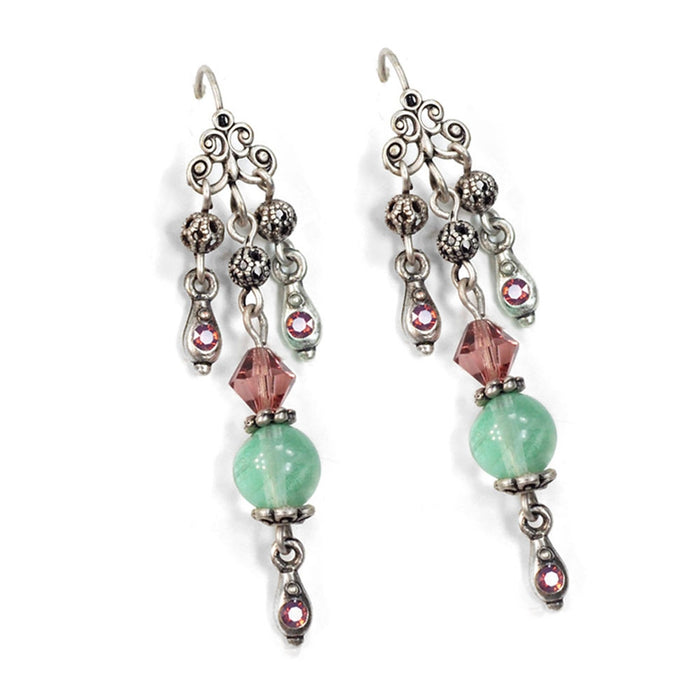 Miami Beach Boho Earrings E1368 - sweetromanceonlinejewelry