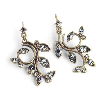 Winding Leaves Earrings - sweetromanceonlinejewelry