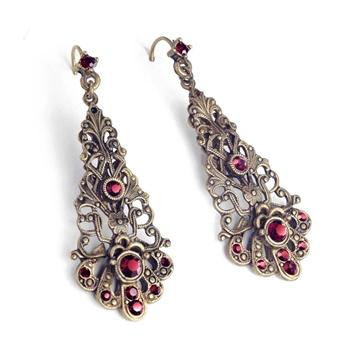 Parisian Filigree Earrings E1373 - sweetromanceonlinejewelry
