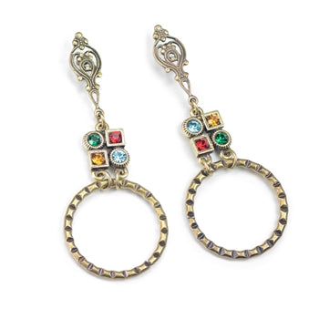 Geometric Modern Deco Earrings E1378