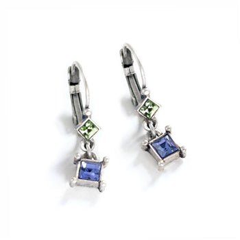 Petite Square Earrings