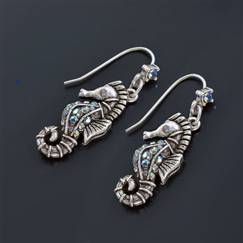 Seahorse Earrings - sweetromanceonlinejewelry