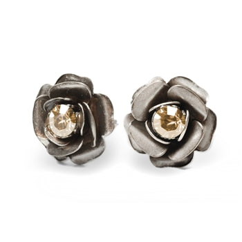 Birth Month Crystal Rose Stud Earrings E1981