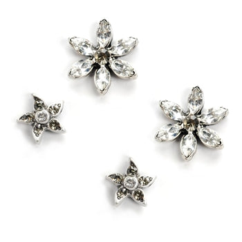 Double Daisy Earrings - sweetromanceonlinejewelry