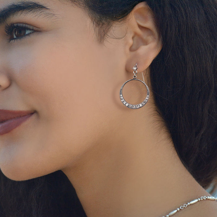 Halo Hoop Earrings E805