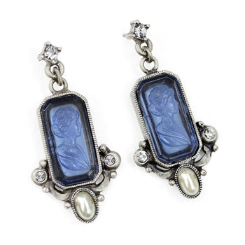 Daphne Intaglio Earrings E909