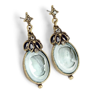 Atemis Intaglio Earrings E910