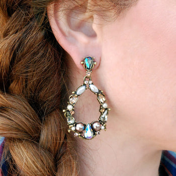 Jewel Loop Earrings E952