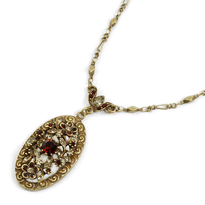Victorian Oval Necklace N1069