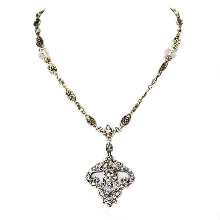 Channelle Crystal Necklace N1082