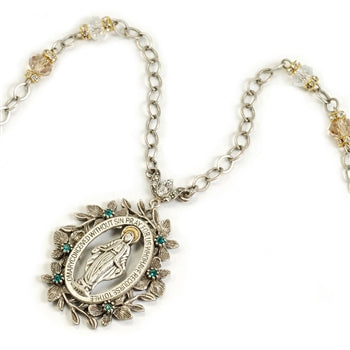 Lady of Miracles Necklace N1085 - sweetromanceonlinejewelry