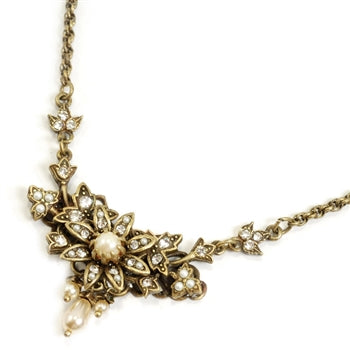 Pearl Blossom Necklace