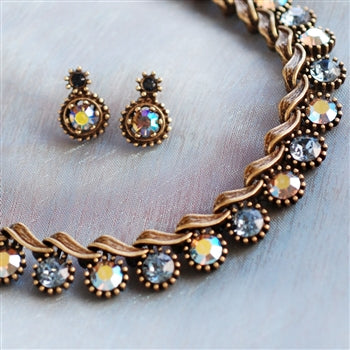 Vogue Collar Necklace and Earrings SET