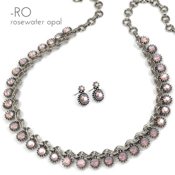 Vogue Collar Necklace and Earrings SET - sweetromanceonlinejewelry
