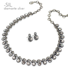 Load image into Gallery viewer, Vogue Collar Necklace and Earrings SET - sweetromanceonlinejewelry