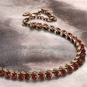 Iconic 1950s Vogue Collar Necklace N1142 - sweetromanceonlinejewelry