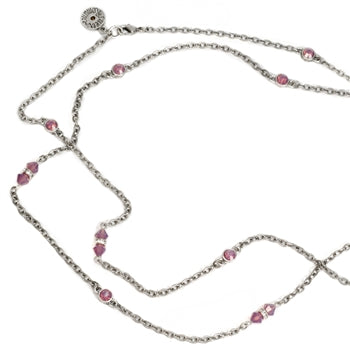 Crystal Sparkle Chain Necklace