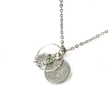 Lucky Pendant Necklace N1241 - sweetromanceonlinejewelry
