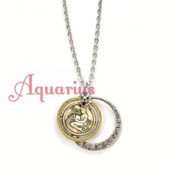 Zodiac Pendant Necklace N1244