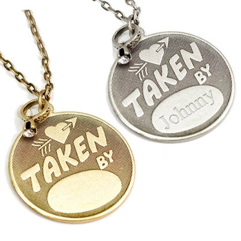 Taken By Pendant Necklace N1247 - sweetromanceonlinejewelry