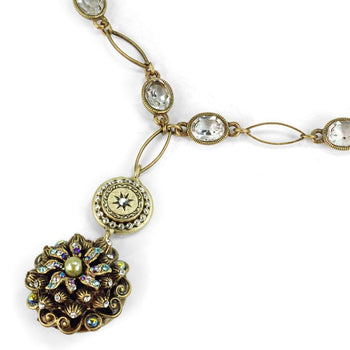 Vintage Sea Urchin Necklace