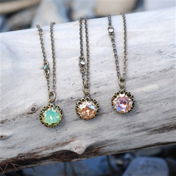 Crystal Dot Necklace N1297