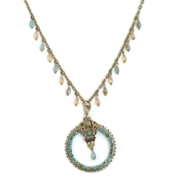 Spirit Wind Beaded Necklace N1307