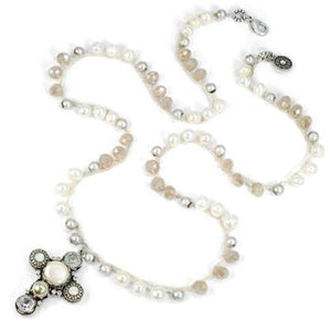 Malibu Beads With Cross N1356 - sweetromanceonlinejewelry