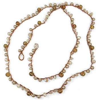 Sunset Beach Boho Chic Beads Necklace N1369
